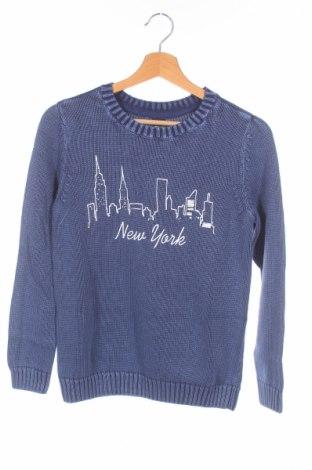 Детски пуловер Arizona, Размер 11-12y/ 152-158 см, Цвят Син, Памук, Цена 18,62лв.