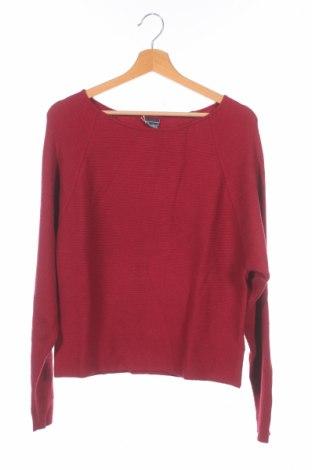 Детски пуловер Arizona, Размер 15-18y/ 170-176 см, Цвят Червен, 55% вискоза, 27% полиестер, 18% полиамид, Цена 18,62лв.