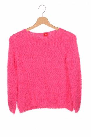 Detský sveter  S.Oliver, Veľkosť 8-9y/ 134-140 cm, Farba Ružová, 60% polyester, 40% polyamide, Cena  6,08€