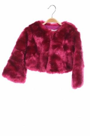 Dziecięcy płaszczyk Liu Jo, Rozmiar 4-5y/ 110-116 cm, Kolor Różowy, 85%akryl, 15% poliester, Cena 193,18zł