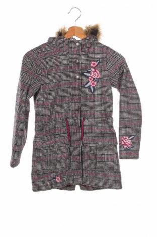 Детско палто S.Oliver, Размер 7-8y/ 128-134 см, Цвят Многоцветен, 70% полиестер, 30% вълна, Цена 63,20лв.