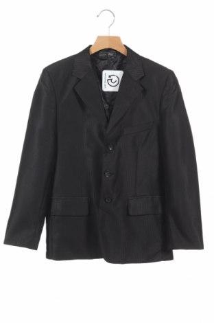 Детско сако, Размер 9-10y/ 140-146 см, Цвят Черен, 65% полиестер, 35% вискоза, Цена 6,00лв.