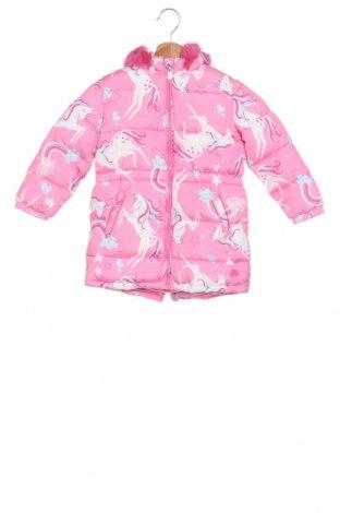 Детско яке, Размер 3-4y/ 104-110 см, Цвят Розов, Полиестер, Цена 60,48лв.