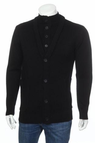 Мъжка жилетка Adidas Slvr, Размер M, Цвят Черен, 100% вълна, Цена 189,00лв.