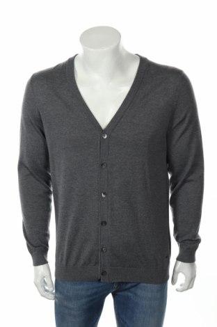 Мъжка жилетка Boss, Размер XL, Цвят Сив, 100% вълна, Цена 70,35лв.