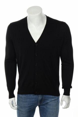 Мъжка жилетка Burberry, Размер S, Цвят Черен, Мерино, Цена 172,20лв.