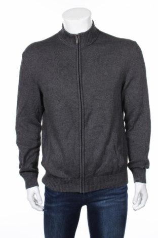 Мъжка жилетка Christian Berg, Размер L, Цвят Сив, 80% памук, 20% вълна, Цена 54,00лв.