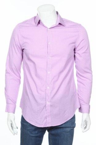 Мъжка риза Blaq, Размер M, Цвят Бял, 60% памук, 40% полиестер, Цена 4,50лв.