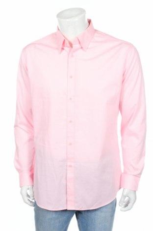 Pánská košile  G2000, Rozměr L, Barva Růžová, 60% bavlna, 40% polyester, Cena  112,00Kč