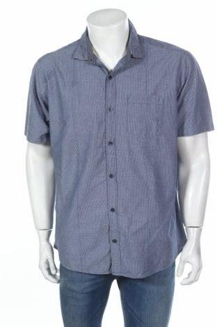 Мъжка риза S.Oliver, Размер XL, Цвят Син, Памук, Цена 40,50лв.