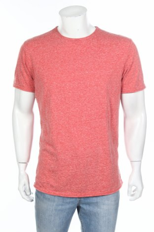 Tricou de bărbați S.Oliver, Mărime L, Culoare Roz, 57% poliester, 37% bumbac, 6% viscoză, Preț 42,00 Lei