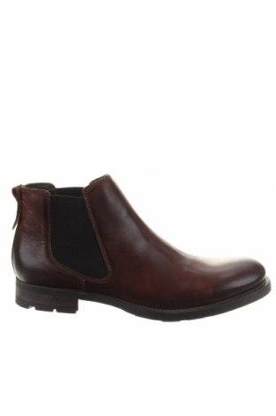 Ανδρικά παπούτσια Buffalo, Μέγεθος 44, Χρώμα Καφέ, Γνήσιο δέρμα, Τιμή 65,57€