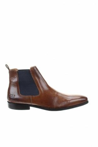 Ανδρικά παπούτσια Melvin & Hamilton, Μέγεθος 44, Χρώμα Καφέ, Γνήσιο δέρμα, Τιμή 119,18€