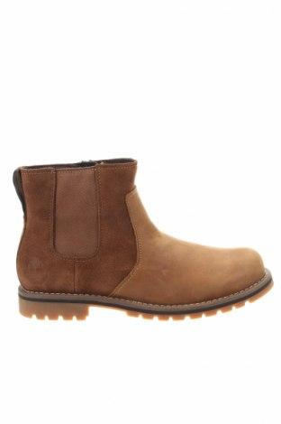 Ανδρικά παπούτσια Timberland, Μέγεθος 43, Χρώμα Καφέ, Γνήσιο δέρμα, Τιμή 119,18€