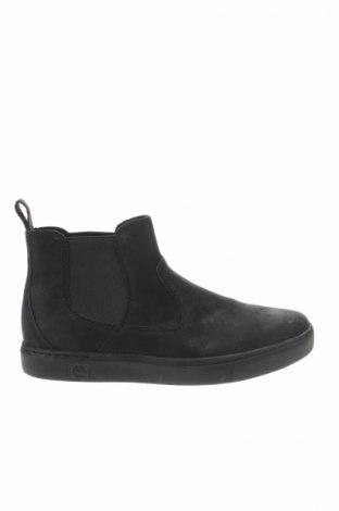 Ανδρικά παπούτσια Timberland, Μέγεθος 45, Χρώμα Μαύρο, Γνήσιο δέρμα, Τιμή 119,18€