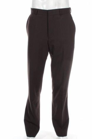 Pánské kalhoty  Hugo Boss, Rozměr S, Barva Hnědá, 98% vlna, 2% elastan, Cena  843,00Kč
