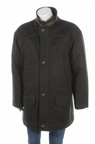 Ανδρικά παλτό, Μέγεθος XL, Χρώμα Πράσινο, Μαλλί, Τιμή 48,24€