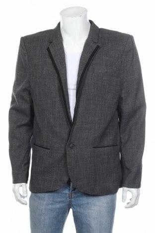 Pánske sako  Revival, Veľkosť XL, Farba Sivá, 70% polyester, 30% viskóza, Cena  23,59€