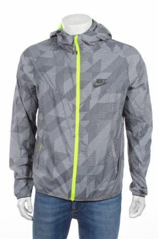 Ανδρικό αθλητικό μπουφάν Nike, Μέγεθος L, Χρώμα Γκρί, Πολυεστέρας, Τιμή 37,86€