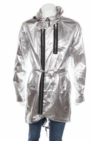 Ανδρικό μπουφάν Adidas Slvr, Μέγεθος M, Χρώμα Ασημί, Πολυαμίδη, Τιμή 37,24€