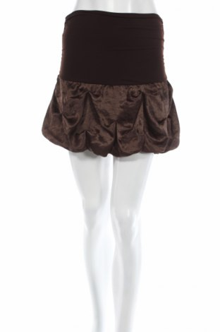 Φούστα Display, Μέγεθος XS, Χρώμα Καφέ, 100% πολυεστέρας, Τιμή 3,96€