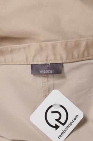Пола Yessica, Размер XS, Цвят Бежов, 60% памук, 37% полиестер, 3% еластан, Цена 5,75лв.