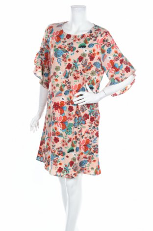 Рокля Ada Gatti, Размер XL, Цвят Многоцветен, Полиестер, Цена 33,64лв.