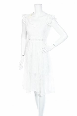 Sukienka TINA, Rozmiar M, Kolor Biały, 65% bawełna, 35% poliester, Cena 40,23zł