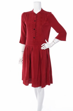 Šaty  Vanessa Bruno, Veľkosť L, Farba Červená, Hodváb , Cena  138,31€