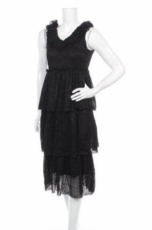 Φόρεμα Vero Moda, Μέγεθος XS, Χρώμα Μαύρο, 95% πολυεστέρας, 5% ελαστάνη, Τιμή 7,35€