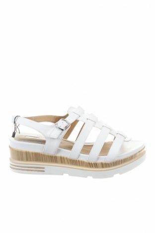 Sandale Maria Mare, Mărime 39, Culoare Alb, Piele ecologică, Preț 99,87 Lei