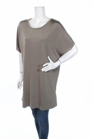 Туника Zara, Размер L, Цвят Бежов, 95% полиестер, 5% еластан, Цена 10,75лв.