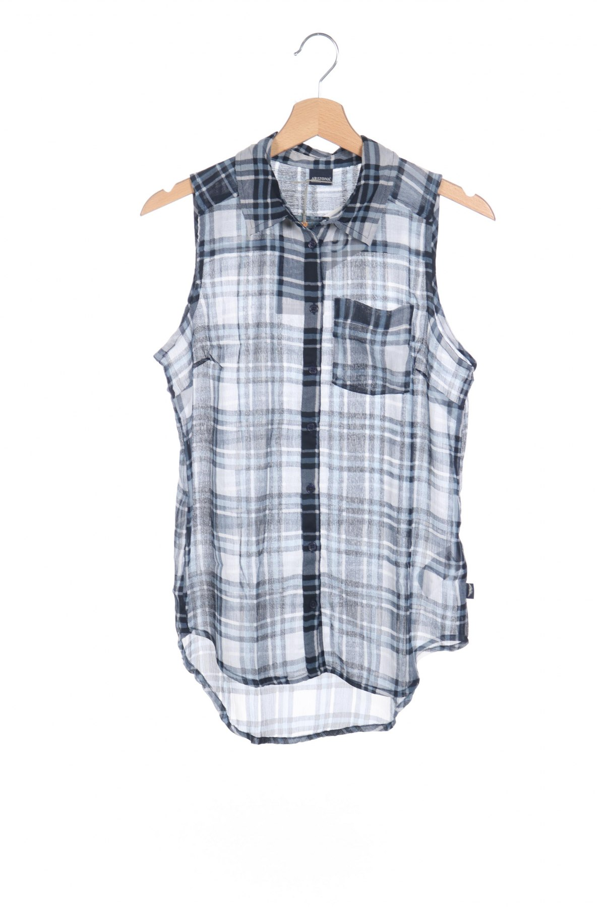 Детска риза Arizona, Размер 15-18y/ 170-176 см, Цвят Син, 100% полиестер, Цена 2,00лв.