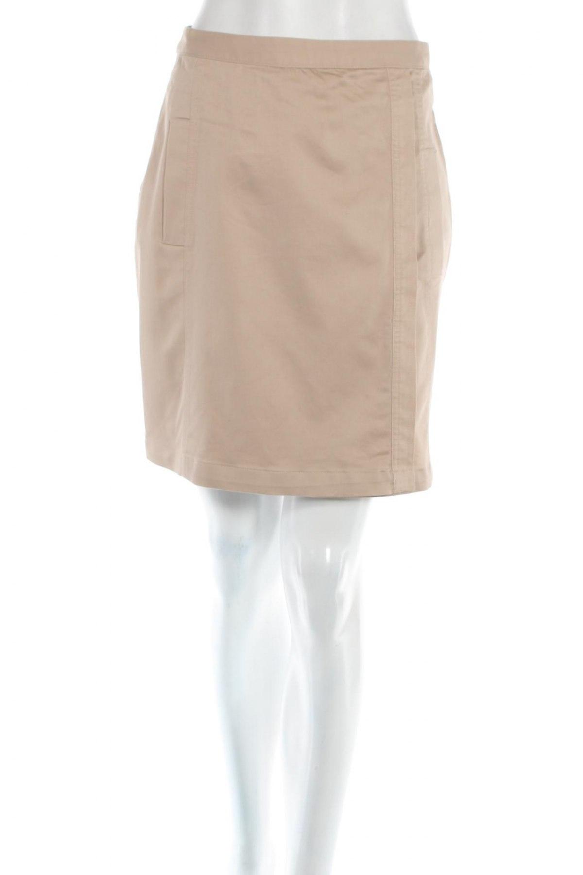 Пола Yessica, Размер XS, Цвят Бежов, 60% памук, 37% полиестер, 3% еластан, Цена 4,60лв.