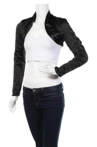 Болеро, Размер S, Цвят Черен, 54% памук, 42% полиестер, 4% еластан, Цена 4,54лв.