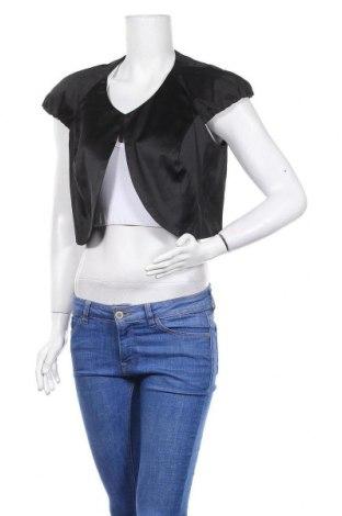 Болеро Bpc Bonprix Collection, Размер XL, Цвят Черен, 52% полиестер, 45% памук, 3% еластан, Цена 6,83лв.