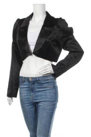Болеро Manoukian, Размер XL, Цвят Черен, 50% полиестер, 47% памук, 3% еластан, Цена 11,03лв.