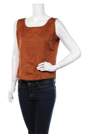 Γυναικεία μπλούζα Biba, Μέγεθος L, Χρώμα Καφέ, 90% πολυαμίδη, 10% ελαστάνη, Τιμή 7,73€