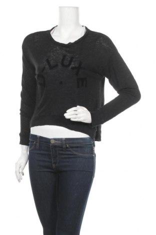Дамска блуза Decjuba, Размер S, Цвят Черен, Лен, Цена 4,46лв.