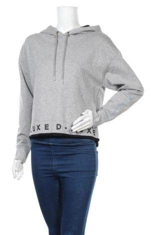 Дамска блуза Decjuba, Размер M, Цвят Сив, 47% полиестер, 45% памук, 8% полиамид, Цена 16,96лв.