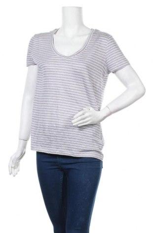 Дамска блуза Essential by Noa Noa, Размер S, Цвят Сив, Лен, Цена 9,98лв.