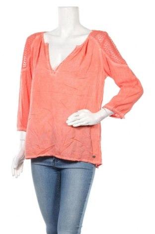 Дамска блуза Garcia Jeans, Размер L, Цвят Розов, Цена 14,18лв.