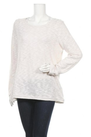 Γυναικεία μπλούζα Gina Benotti, Μέγεθος L, Χρώμα Εκρού, 57% βαμβάκι, 43% πολυεστέρας, Τιμή 4,42€