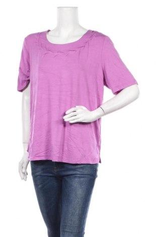 Дамска блуза Grandiosa, Размер XL, Цвят Лилав, 95% вискоза, 5% еластан, Цена 14,28лв.