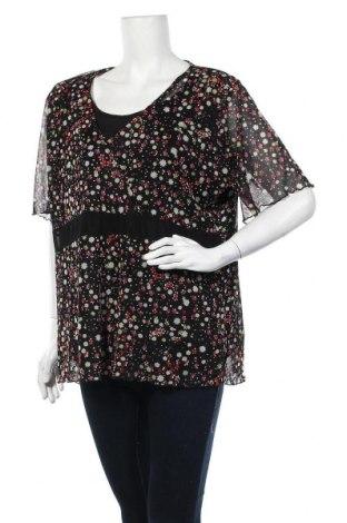 Дамска блуза Grandiosa, Размер XXL, Цвят Многоцветен, Полиестер, Цена 11,81лв.
