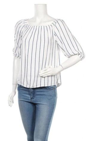 Дамска блуза H&M L.O.G.G., Размер S, Цвят Бял, Вискоза, Цена 16,38лв.