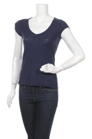 Дамска блуза H&M L.O.G.G., Размер XS, Цвят Лилав, 100% памук, Цена 10,24лв.