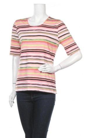 Дамска блуза Joy, Размер M, Цвят Многоцветен, 90% полиестер, 10% еластан, Цена 15,12лв.
