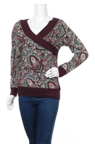 Дамска блуза Koroshi, Размер M, Цвят Многоцветен, Памук, Цена 10,56лв.