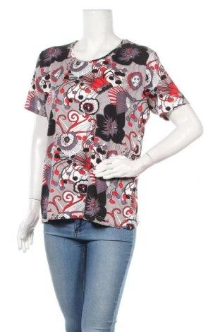 Γυναικεία μπλούζα Malva, Μέγεθος L, Χρώμα Πολύχρωμο, 92% βισκόζη, 8% ελαστάνη, Τιμή 8,83€